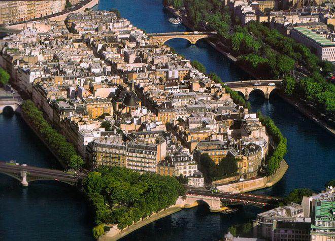 Остров Сен-Луи в Париже