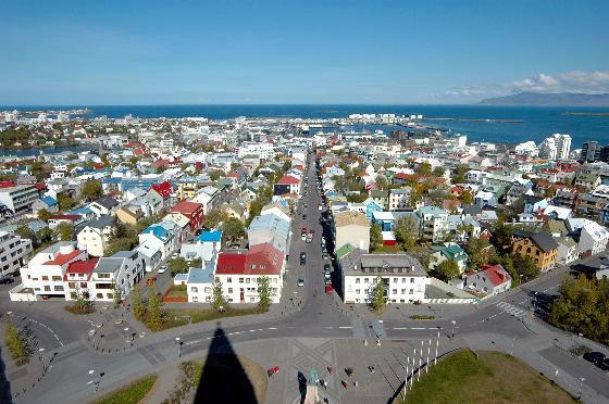 Отдыхаем в столице Исландии Рейкьявик