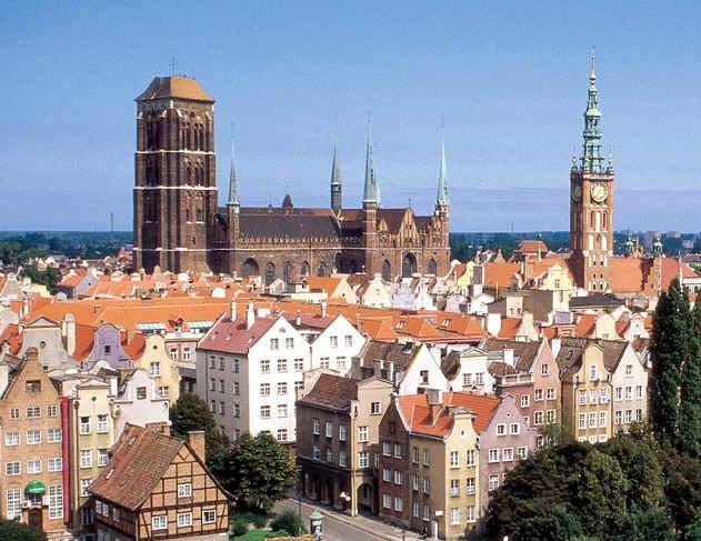 Путешествуем по Польше – посещаем город Гданьск