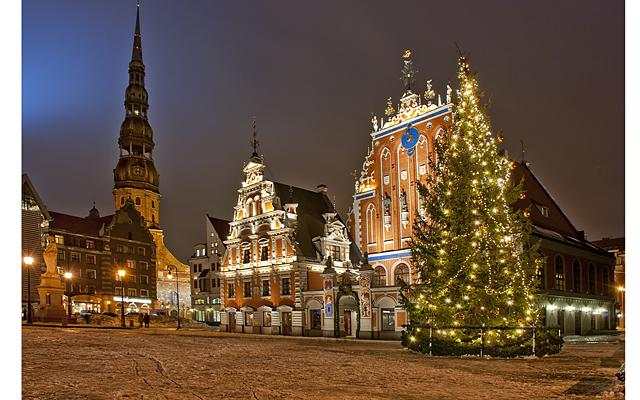 Riga at Christmas time