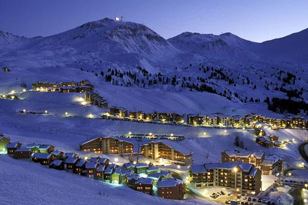Едем  Парадиски  - лыжный рай Франции