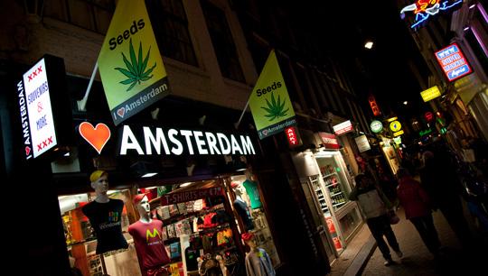 Ночная жизнь в Нидерландах
