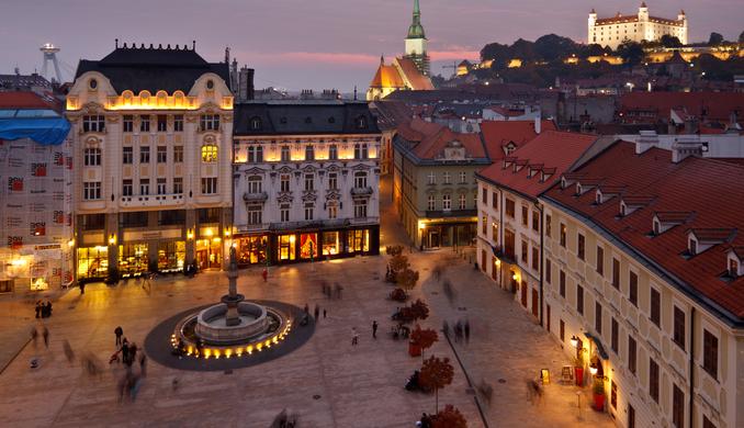 Едем в Словакию – посещаем Братиславу