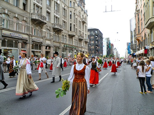Посещаем фестивали и другие праздники Латвии