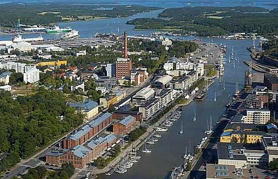 Посещаем город Финляндии  - Турку