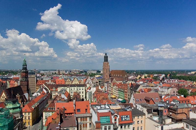 Посещаем польские города Вроцлав и Гдыня