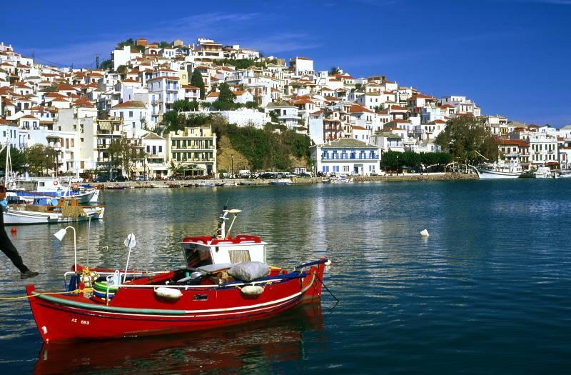 Едем в Грецию - посещаем Скопелос