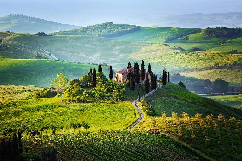 Едем в Италию  - посещаем Тоскану