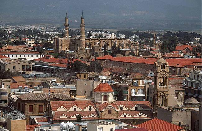 Едем в Кипр посещаем ее столицу - города Никосия