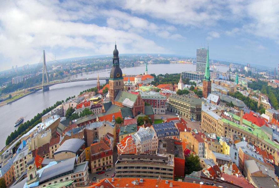 Краткая информация о городах Латвии