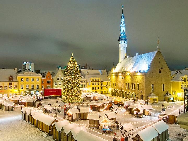Посещаем зимнюю Эстонию