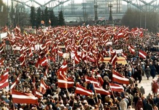Узнаем о население Латвии