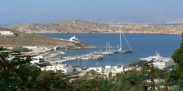Замечательный город Греции Иос