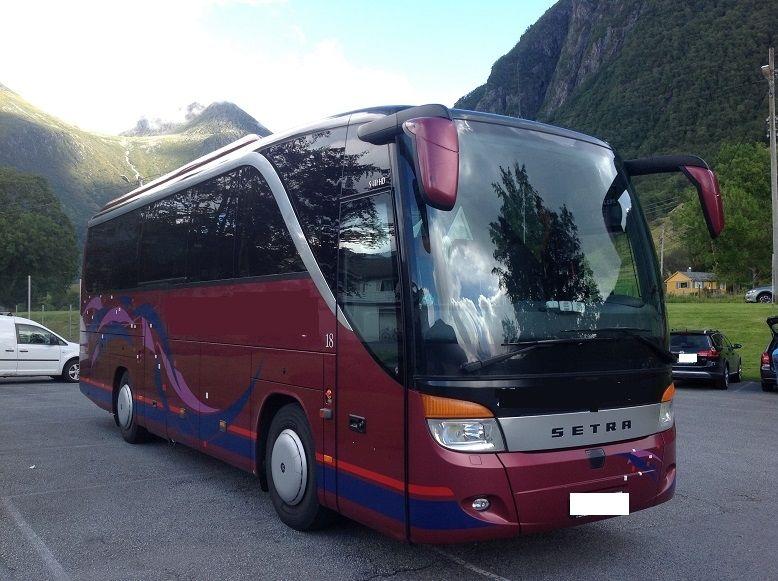 Автоперевозки и автобусное сообщение Норвегии