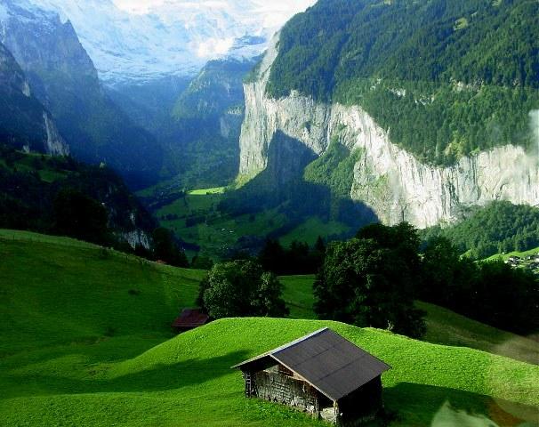 Климат и география Швейцарии