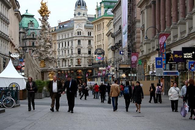 Население и промышленность Австрии