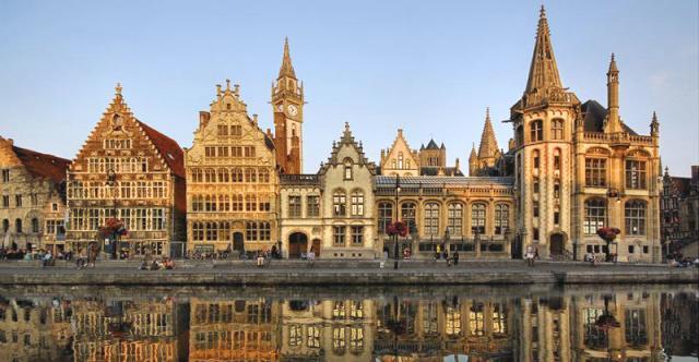 Посещаем города Бельгии