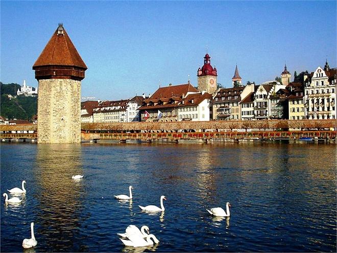Туристические объекты Швейцарии