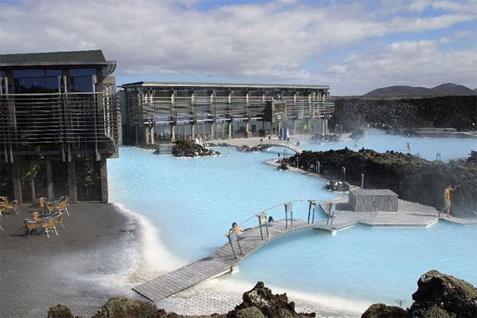 Посещаем голубую лагуну Исландии1