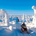 Зимние развлечения в Финляндии