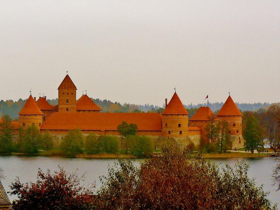 Литва в октябре