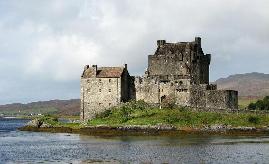 Посещаем замок Эйлен Донан в Шотландии